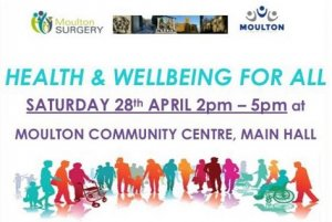 Health & Wellbeing for All Event Sat 28th April